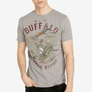 Buffalo David Bitton Tiblu Eagle Snake T-shirt